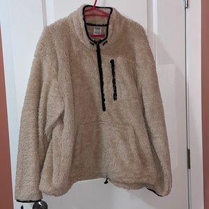 Pink VS Teddy Bear fuzzy sweater